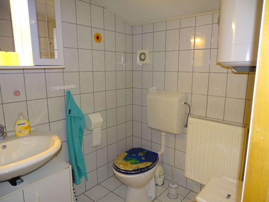 FeWo 1: Bad mit Dusche und WC